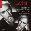 【輸入盤】交響曲第8番〜2種の演奏 ヴィルヘルム・フルトヴェングラー&ウィーン・フィル(1944)、