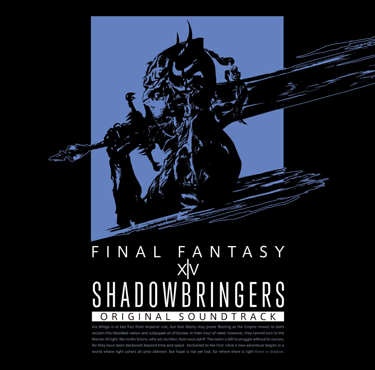 アニメ, キッズアニメ SHADOWBRINGERSFINAL FANTASY XIV Original Soundtrack(Blu-ray Disc Music)