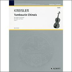 【輸入楽譜】クライスラー, Fritz: 中国の太鼓 Op.3 [ クライスラー, Fritz ]