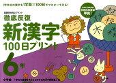 徹底反復新漢字100日プリント(6年)