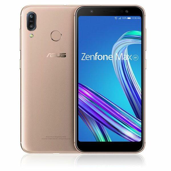 ASUS Zenfone Max M1 Series サンライトゴールド ZB555KL-GD32S3