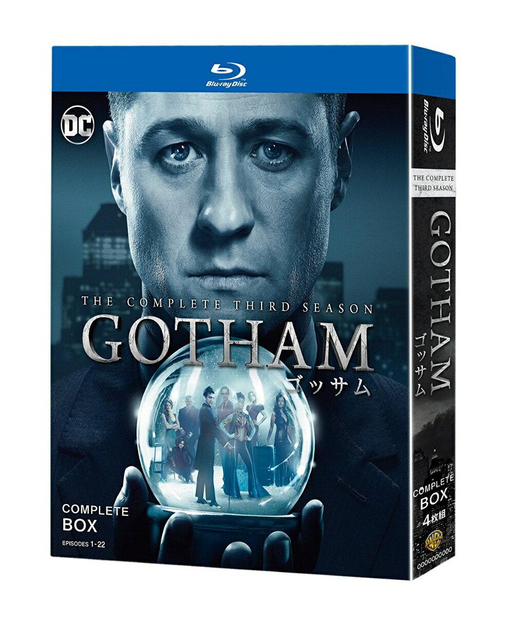 GOTHAM/ゴッサム <サード・シーズン> コンプリート・ボックス【Blu-ray】