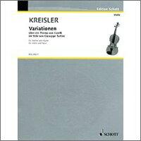 【輸入楽譜】クライスラー, Fritz: コレルリの主題による変奏曲