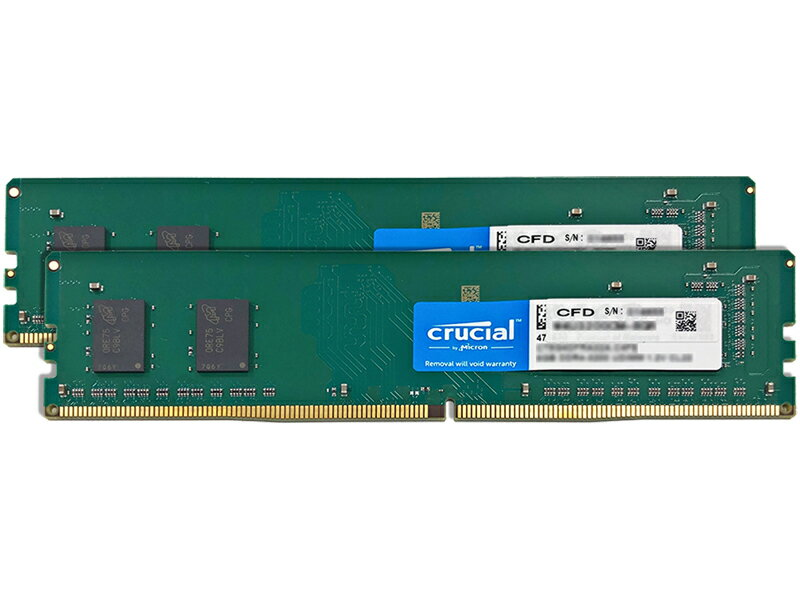 デスクトップPC用メモリ PC4-25600(DDR4-3200) 8GB×2枚 無期限保証 W4U3200CM-8GR