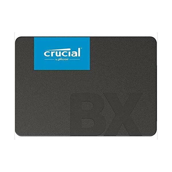 CRUCIAL 2.5インチSSD BX500シリーズ 240GB CT240BX500SSD1 海外パッケージ