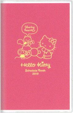 2019年 手帳 ハローキティ  マンスリー A5 スリム カラー ハローキティ S2942984 (2018年10月始まり)