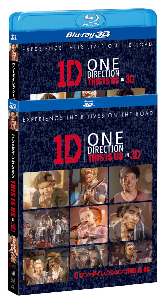 ワン・ダイレクション THIS IS US ブルーレイ IN 3D(2枚組)(初回限定)【Blu-ray】