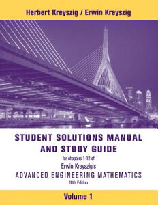 【送料無料】Advanced Engineering Mathematics, Student Solutions Manual [ Erwin Kreyszig ]