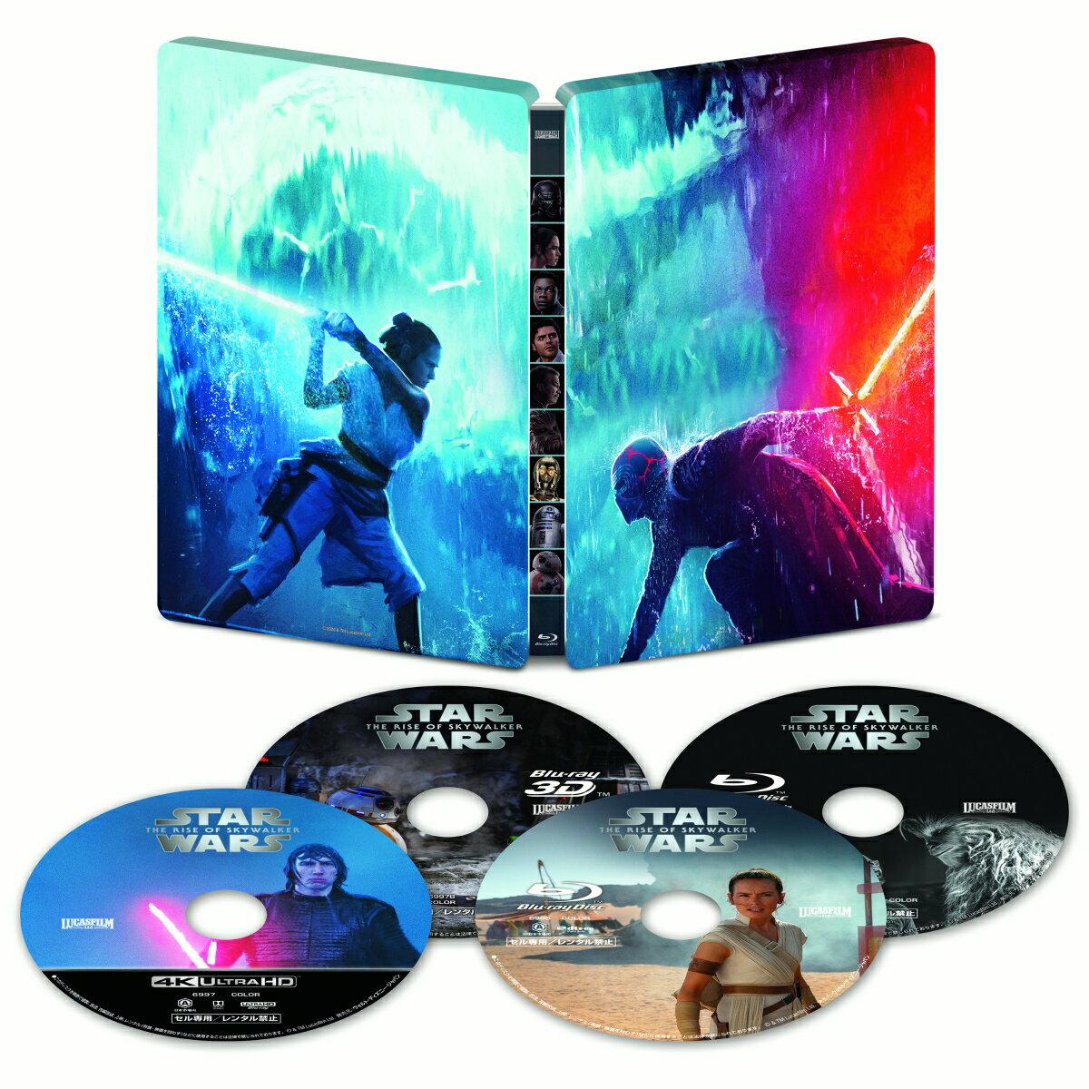 【楽天ブックス限定】スター・ウォーズ/スカイウォーカーの夜明け 4K UHD MovieNEX スチールブック(数量限定)+コレクターズカード【4K ULTRA HD】