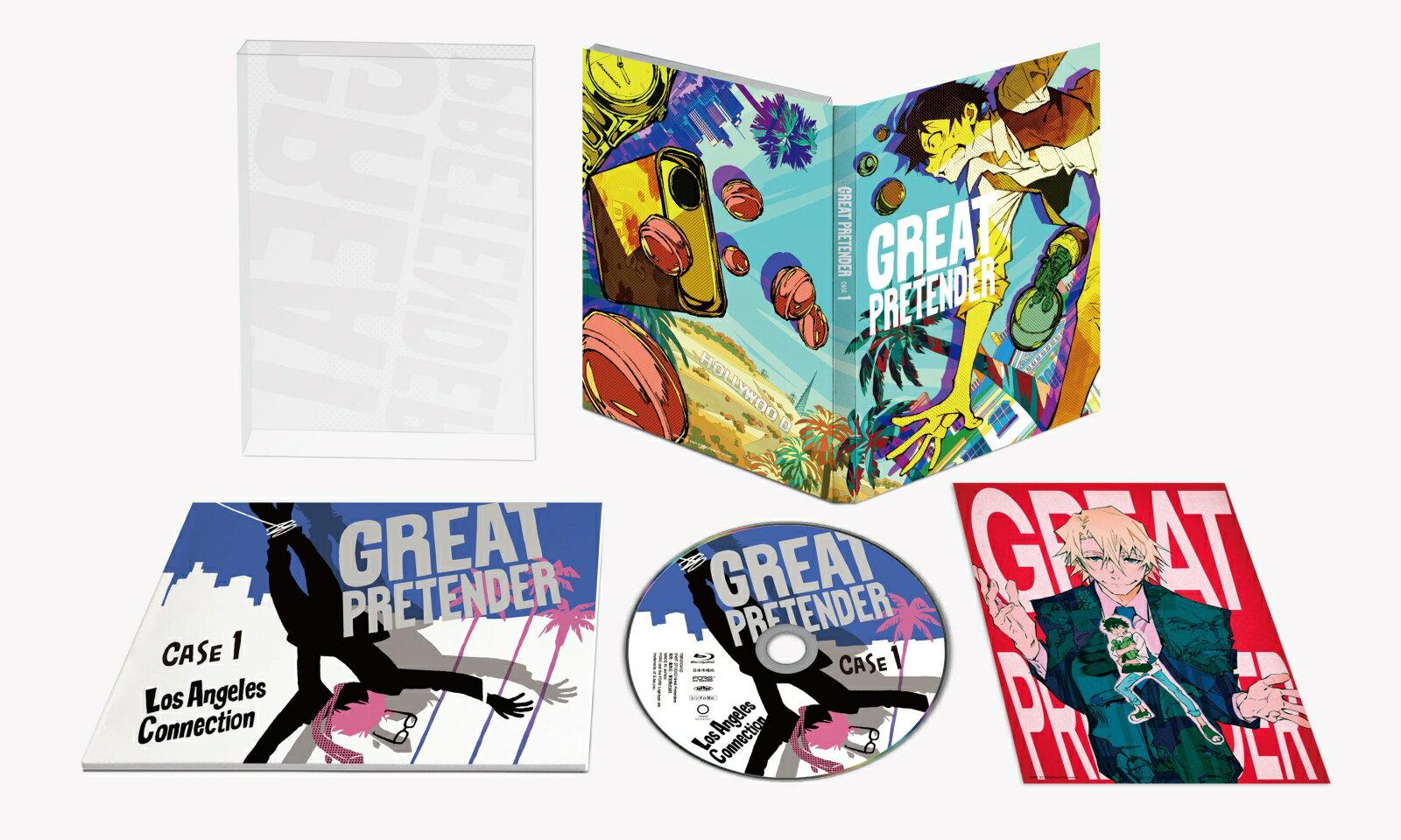 「GREAT PRETENDER」CASE 1 ロサンゼルス・コネクション【Blu-ray】 [ 小林千晃 ]画像