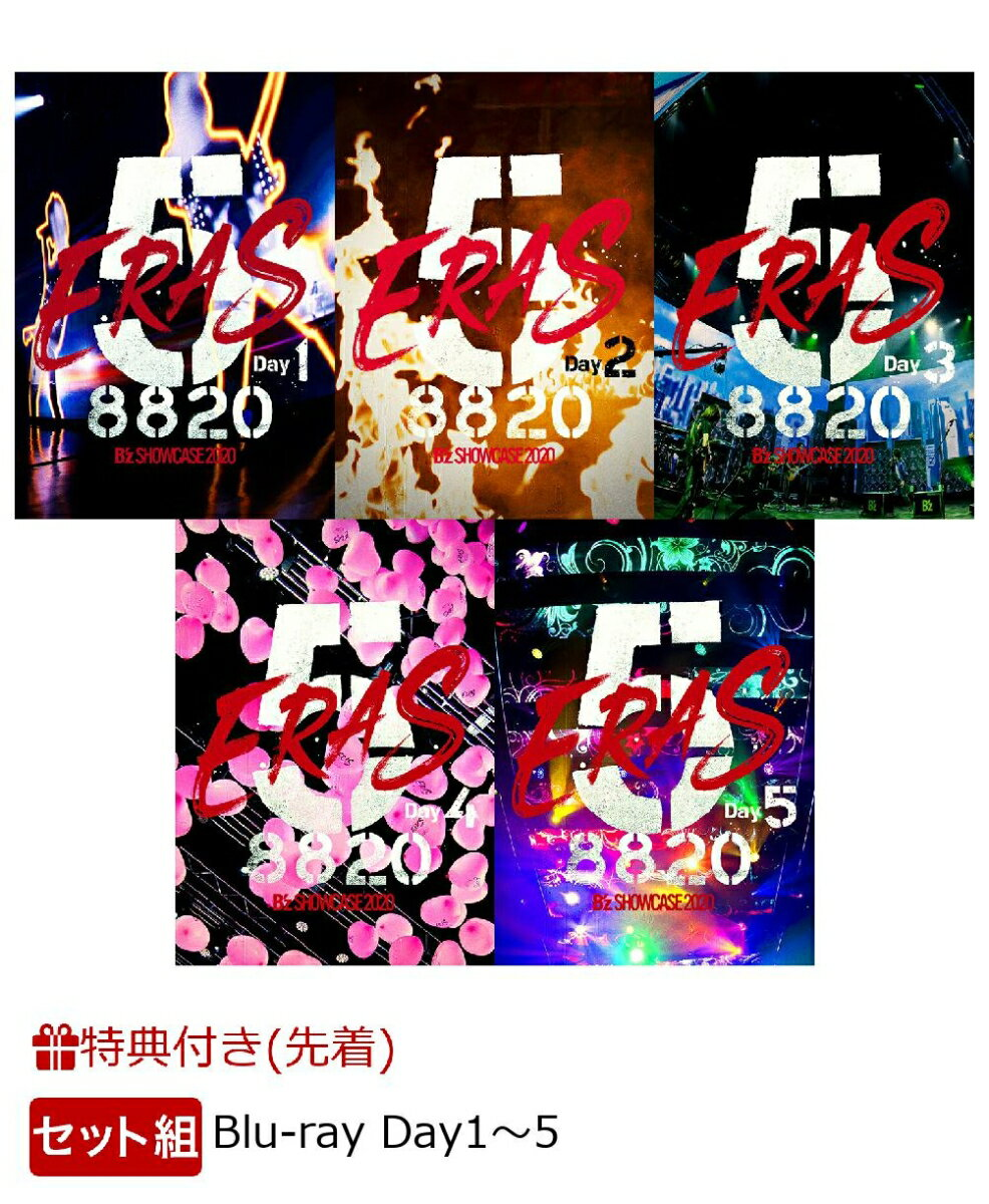 ミュージック, その他 Bz SHOWCASE 2020 -5 ERAS 8820-Day15Blu-ray(Bz SHOWCASE 2020 -5 ERAS 8820- (A4 )5) Bz