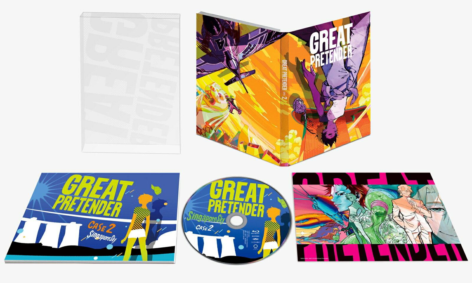 「GREAT PRETENDER」CASE 2 シンガポール・スカイ【Blu-ray】 [ 小林千晃 ]画像