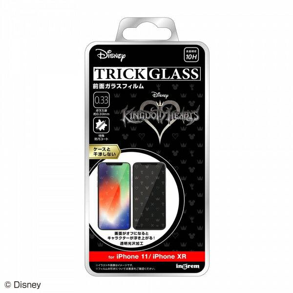 iPhone 11/XR 『キングダムハーツ』/トリックガラスフィルム 10H/『キングダムハーツ/シンボル』