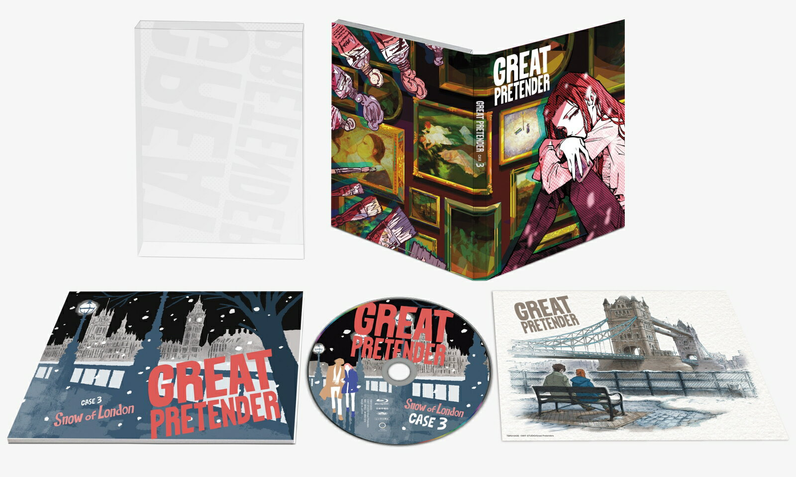 「GREAT PRETENDER」CASE 3 スノー・オブ・ロンドン【Blu-ray】 [ 小林千晃 ]画像
