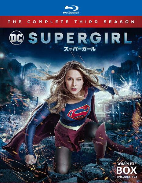 SUPERGIRL/スーパーガール<サード・シーズン>ブルーレイコンプリート・ボックス(4枚組) Blu-ray  メリッサ・ブ