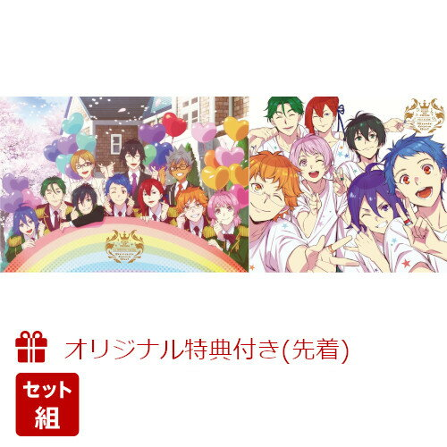 """【セット組】【楽天ブックス限定先着特典】KING OF PRISM ALL SERIES Blu-ray Disc """"Dream Goes On!""""【Blu-ray】+KING OF PRISM BEST ALBUM""""Music Goes On!""""(オリジナル・トートバッグ+クリアファイル)"""