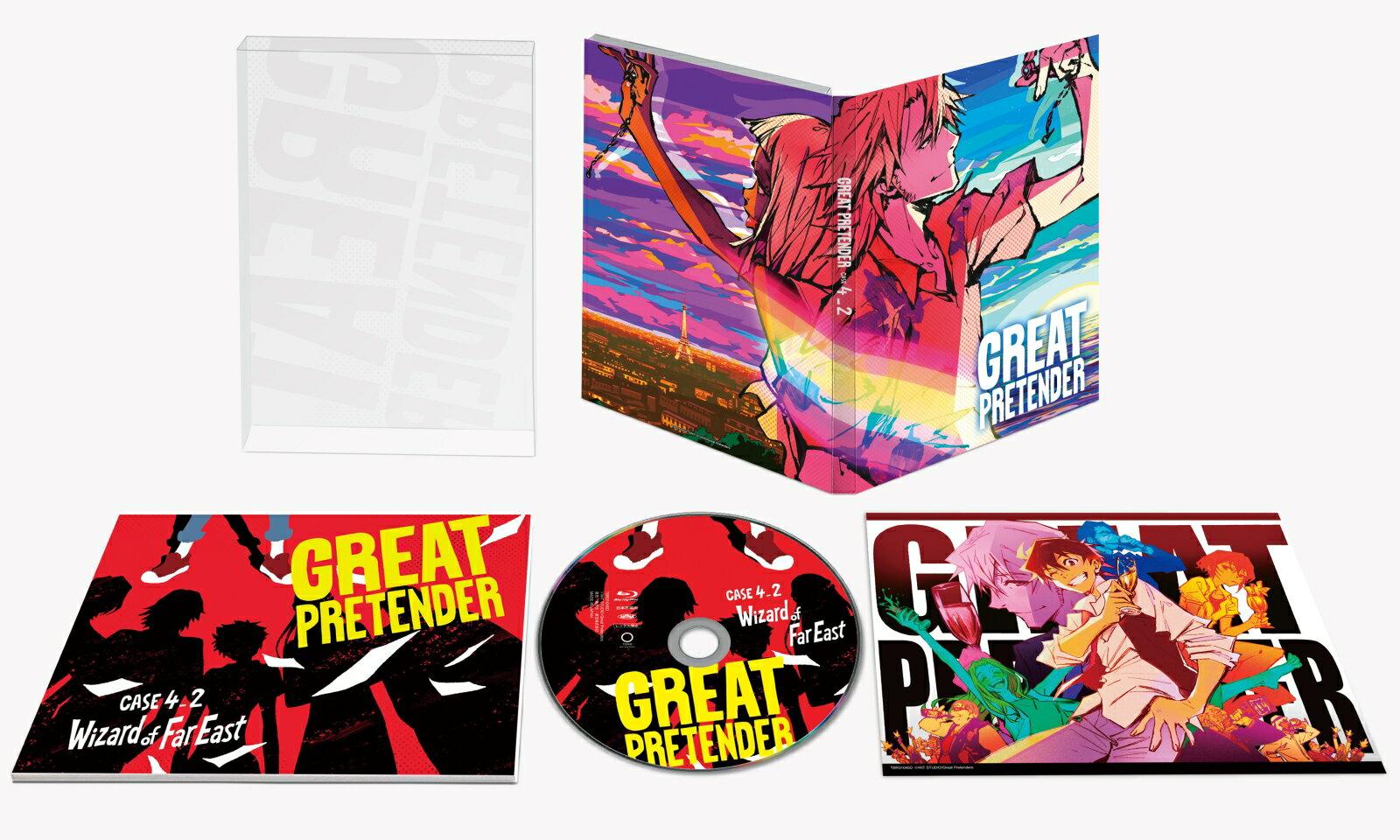 「 GREAT PRETENDER 」 CASE 4 ウィザード・オブ・ファー・イースト 【後篇】【Blu-ray】 [ 小林千晃 ]画像
