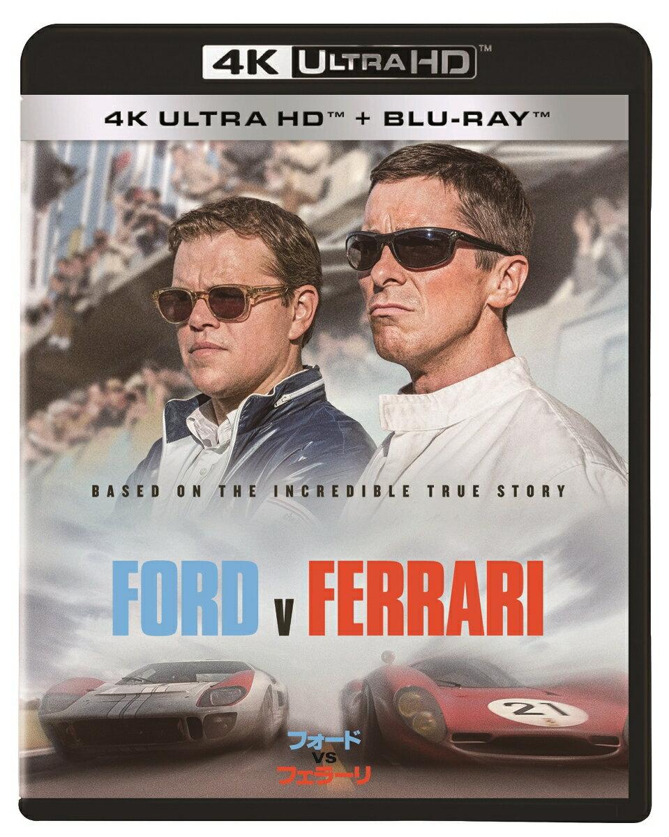 フォードvsフェラーリ 4K UHD(4K ULTRA HD+ブルーレイ)【4K ULTRA HD】