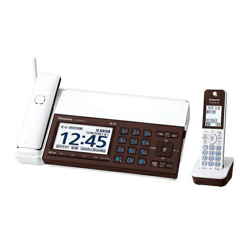 Panasonic デジタルコードレス普通紙ファクス(子機1台付き)(ピアノホワイト) KX-PD915DL-W