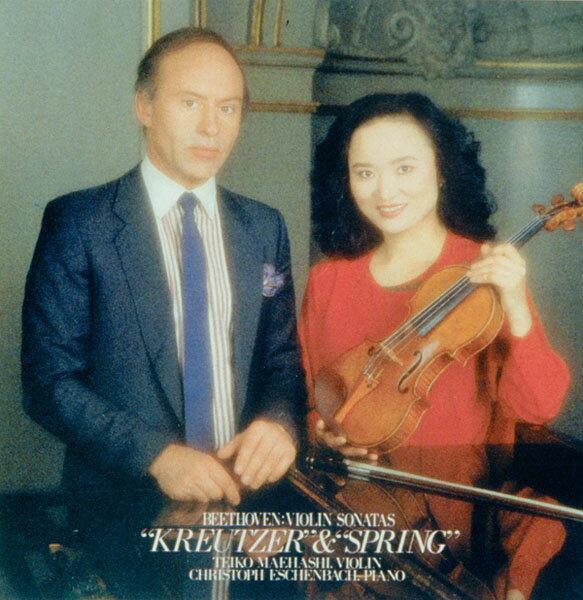 ベートーヴェン:ヴァイオリン・ソナタ 第9番「クロイツェル」&第5番「春」 [ 前橋汀子 ]