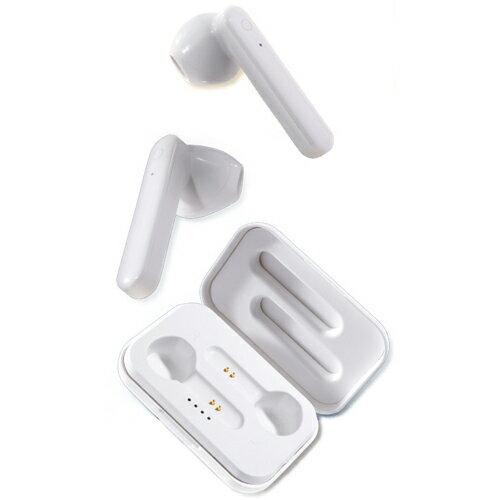 B-FREE 高音質 完全ワイヤレスイヤホン TWS-1226 ホワイト