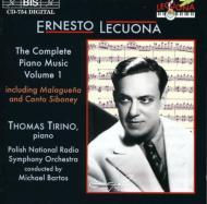 【輸入盤】Complete Piano Music Vol.1: Tirino(P), Bartos / Polish National.rso画像