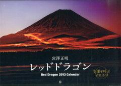 【送料無料】レッドドラゴン カレンダー2013 [ 宮澤正明 ]