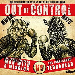 【楽天ブックスならいつでも送料無料】OUT OF CONTROL (初回限定盤 CD+DVD) [ MAN WITH A MISS...