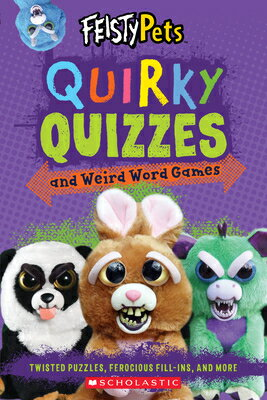 Quirky Quizzes and Funny Fill-Ins (Feisty Pets)画像