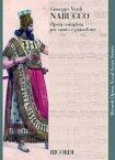 【輸入楽譜】ヴェルディ, Giuseppe: オペラ「ナブッコ」 (伊語)(紙装)/トラディショナル編 [ ヴェルディ, Giuseppe ]