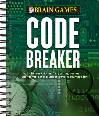 Brain Games Code Breaker: Break the Cryptograms Before the Rules Are Rewritten画像