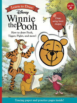 Learn to Draw Disney Winnie the Pooh: How to Draw Pooh, Tigger, Piglet, and More!画像