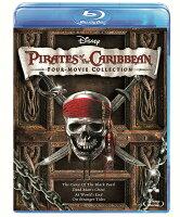 パイレーツ・オブ・カリビアン:ブルーレイ・4ムービー・コレクション【Blu-ray】