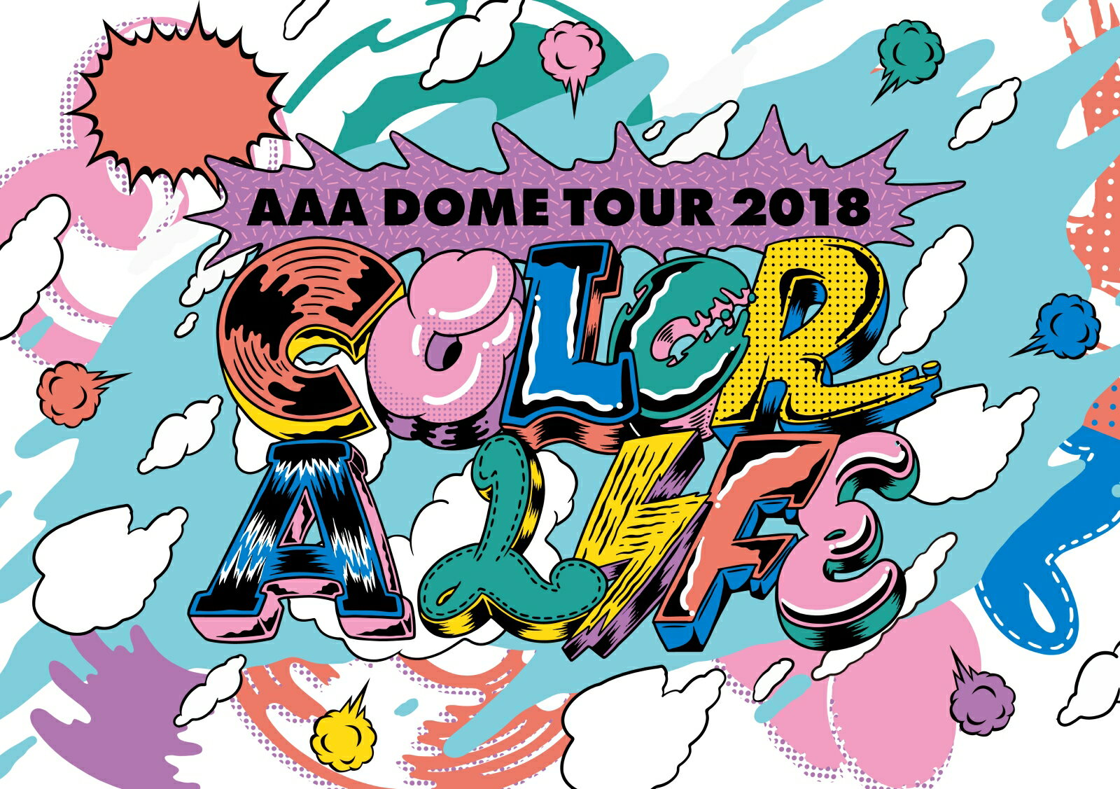 AAA DOME TOUR 2018 COLOR A LIFE(初回生産限定盤)(スマプラ対応)【Blu-ray】画像