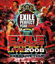 EXILE PERFECT LIVE 2008 EXILE LIVE TOUR【Blu-ray】