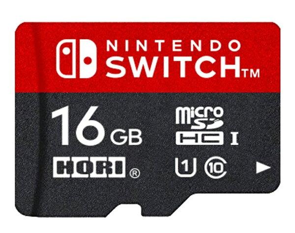 マイクロSDカード16GBforNintendoSwitch