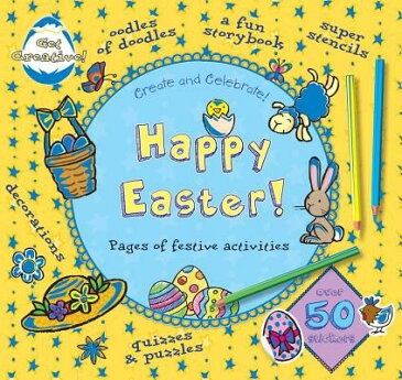 Happy Easter HAPPY EASTER-ACTIVITY BK (Create and Celebrate) [ Ronne Randall ]