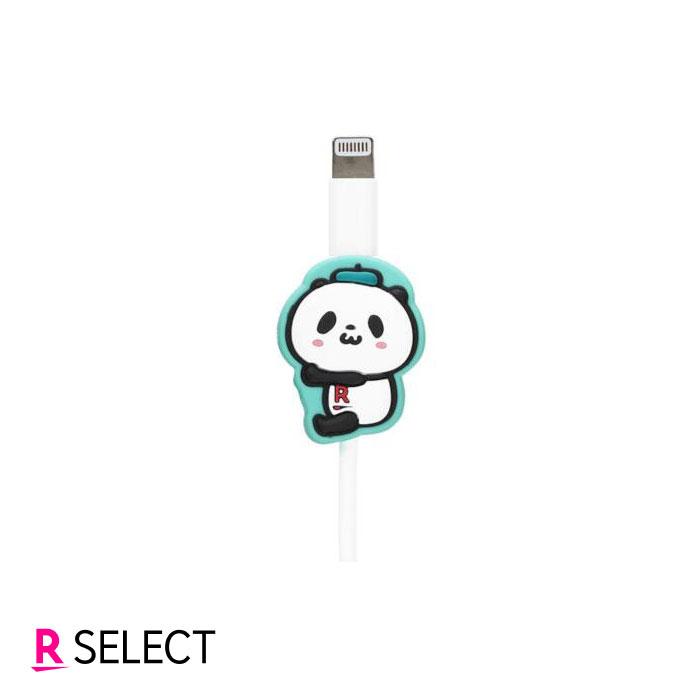 【ポイント10倍】お買いものパンダ ケーブルマスコット 小パンダ(グリーン)
