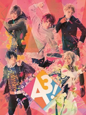 MANKAI STAGE『A3!』~SPRING & SUMMER 2018~(初演特別限定盤)【Blu-ray】 [ 横田龍儀 ]画像