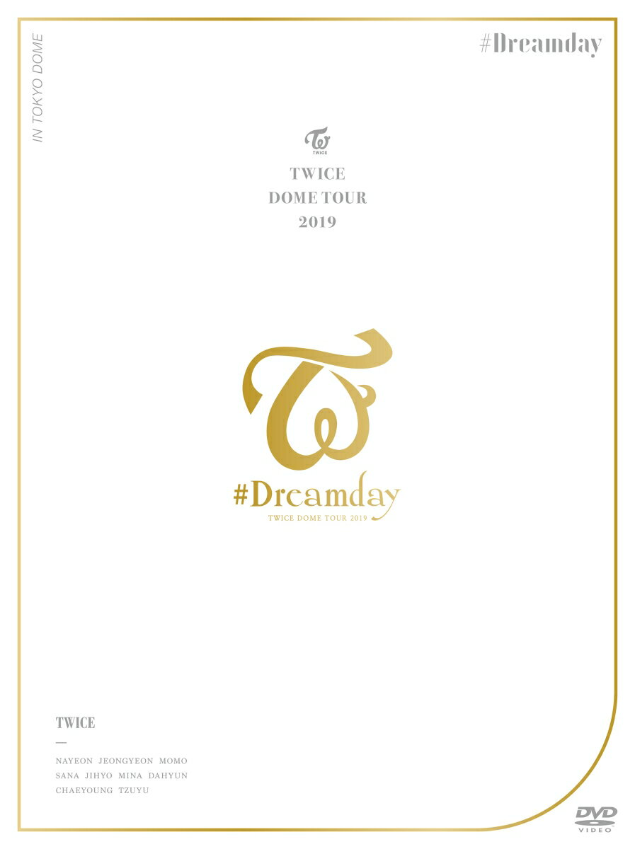 """TWICE DOME TOUR 2019 """"#Dreamday"""" in TOKYO DOME(初回限定盤)"""