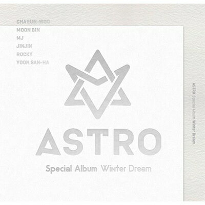 韓国(K-POP)・アジア, その他 Special Album: Winter Dream ASTRO (Korea)