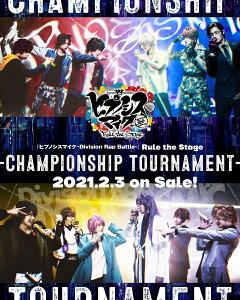 『ヒプノシスマイクーDivision Rap Battle-』Rule the Stage -Championship Tournament-〈Blu-ray+CD〉【Blu-ray】