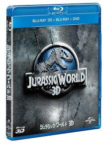 ジュラシック・ワールド3D/2Dブルーレイ&DVDセット+特典DVDディスク(4枚組)【Blu…