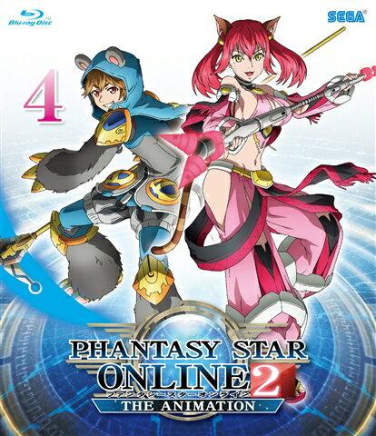 ファンタシースターオンライン2 ジ アニメーション 4【Blu-ray】画像