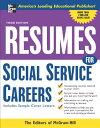 楽天ブックスで買える「Resumes for Social Service Careers RESUMES FOR SOCIAL SERVICE CAR (McGraw-Hill Professional Resumes) [ McGraw-Hill ]」の画像です。価格は3,009円になります。