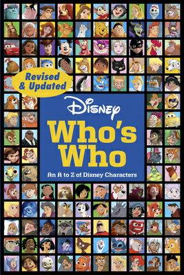 洋書, BOOKS FOR KIDS DISNEY WHOS WHO RE(P) .
