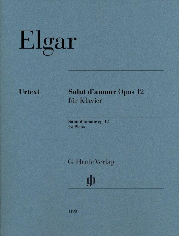 【輸入楽譜】エルガー, Edward: 愛の挨拶 Op.12/原典版/Marshall-Luck編/Koenen運指画像