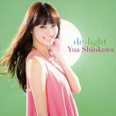 【送料無料】de-light(ジャケット写真B CD+DVD) [ 新川優愛 ]