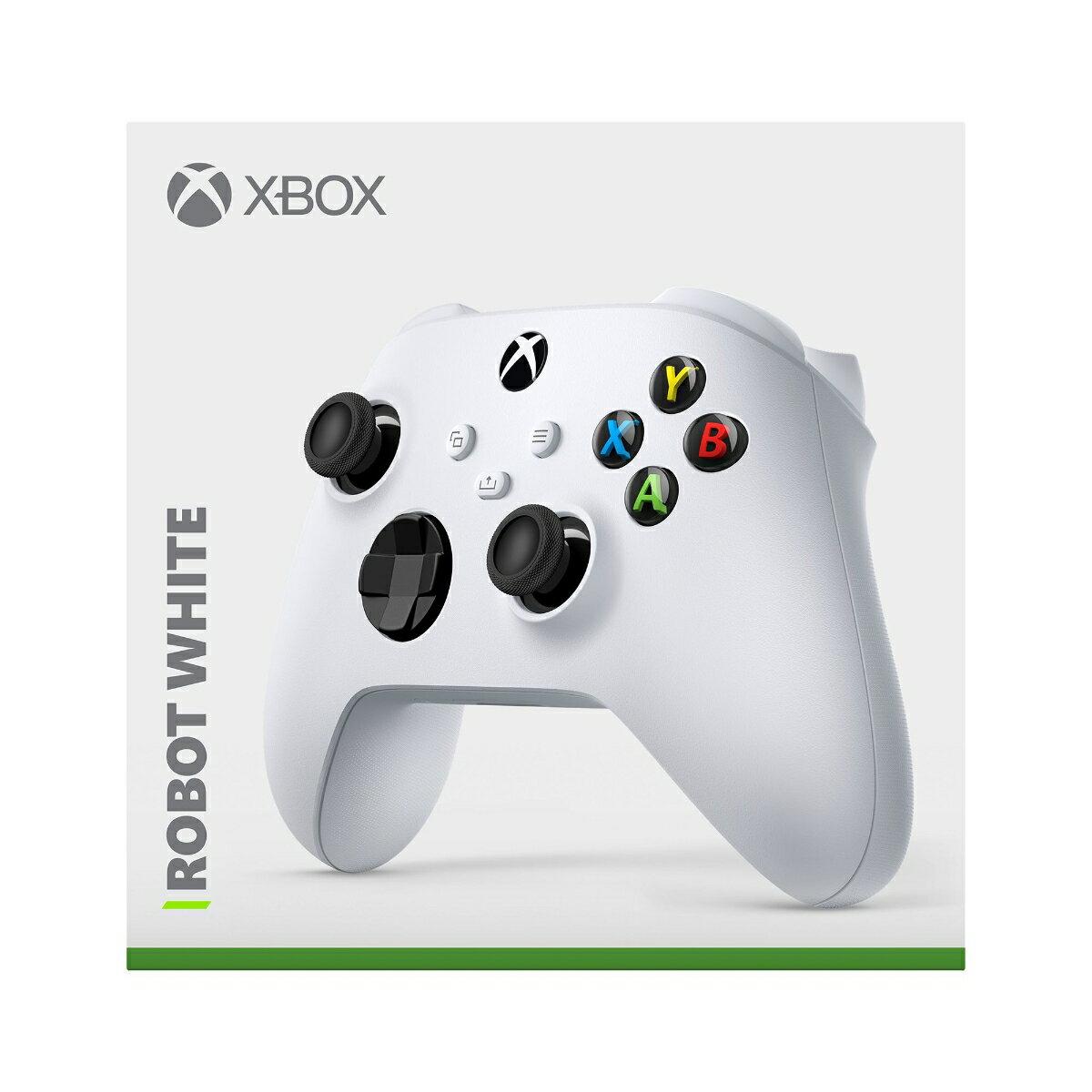 Xbox ワイヤレス コントローラー (ロボット ホワイト)