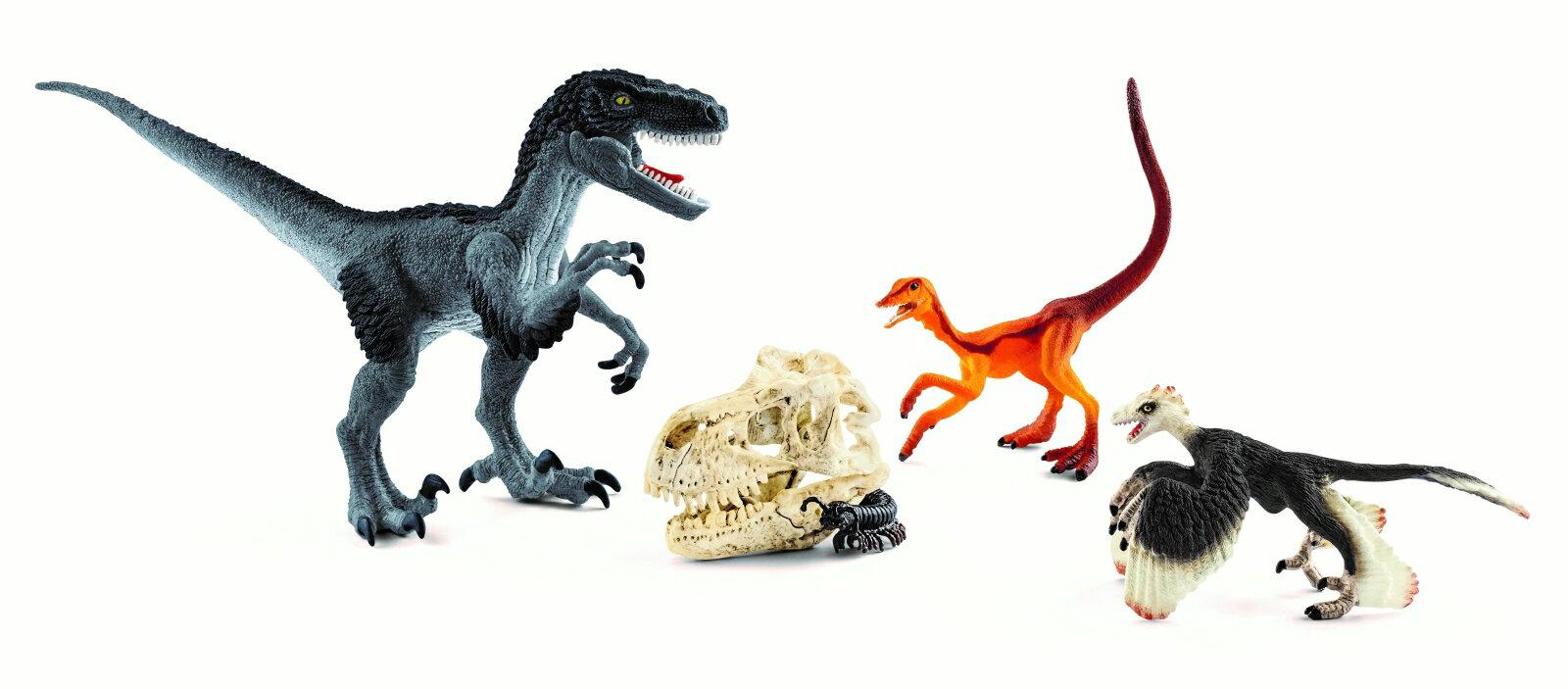 72128 ベロキラプトルハンティングセット 【シュライヒ】 DINOSAURS/恐竜